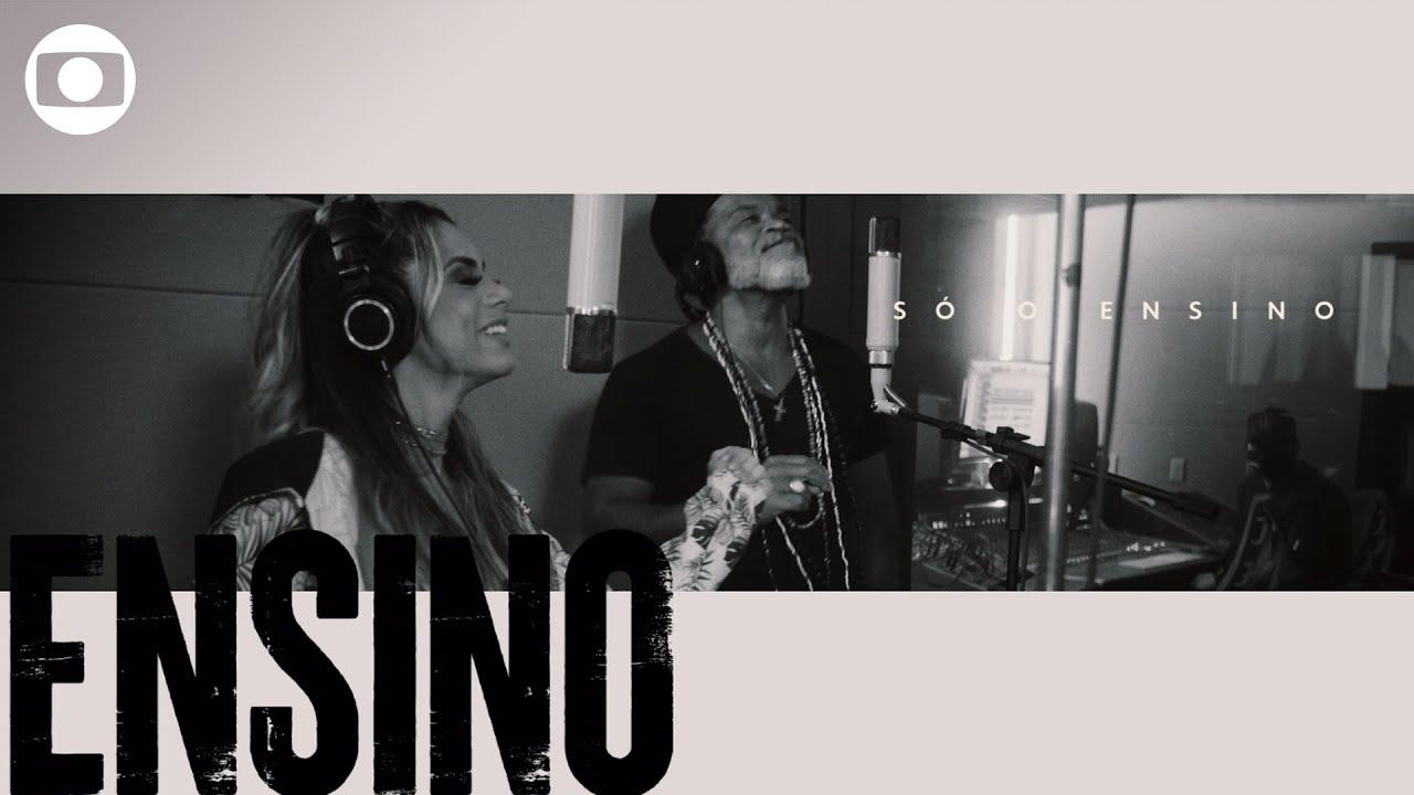 Não desista do seu futuro: Carlinhos Brown e Lexa cantam música de campanha contra evasão escolar