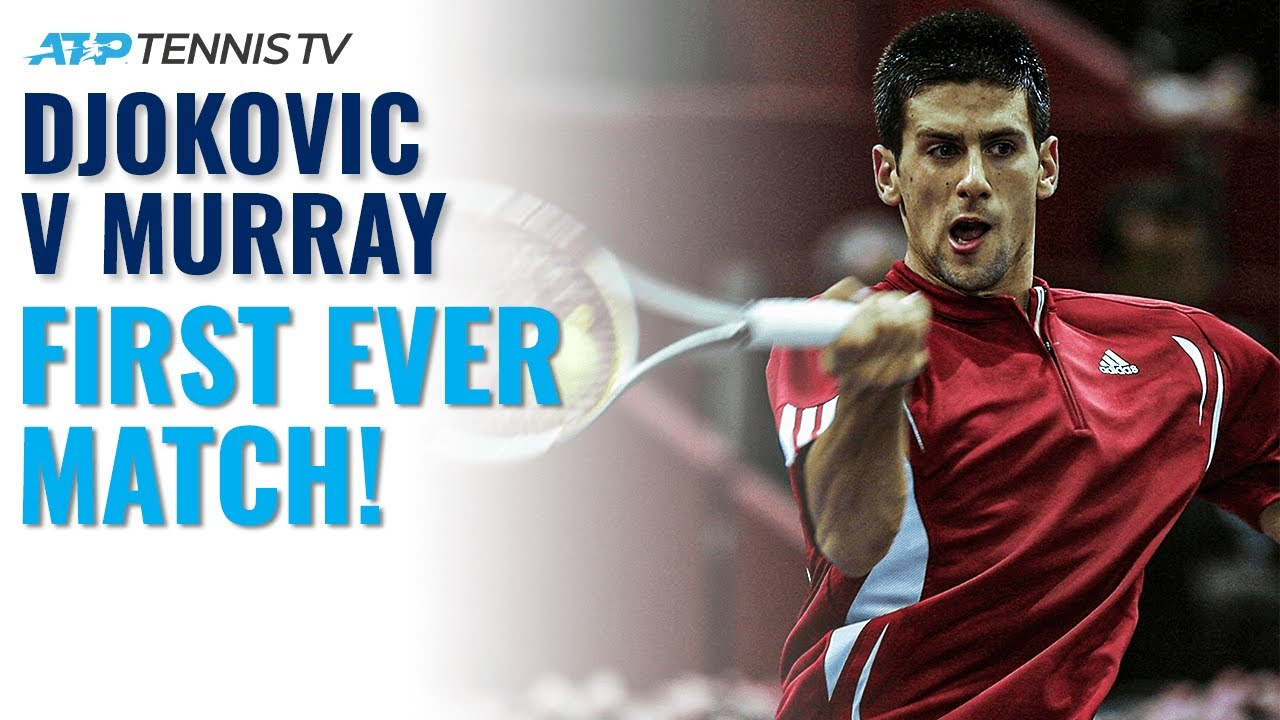 Novak Djokovic v Andy Murray: The Beginning of the Rivalry!