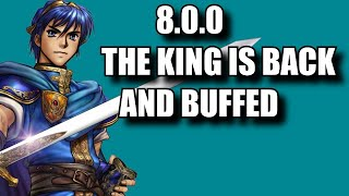 Marth Buffs! 8.0.0 Showcase Part 1 Marth is Officially High Tier [ Super Smash Bros Ultimate ]