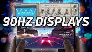90Hz Displays, SurfaceFlinger, and Display Processors