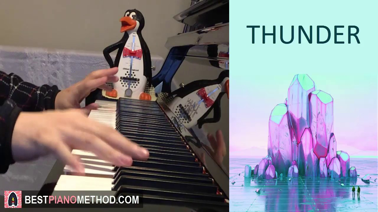 imagine dragons thunder piano cover by amosdoll youtube
