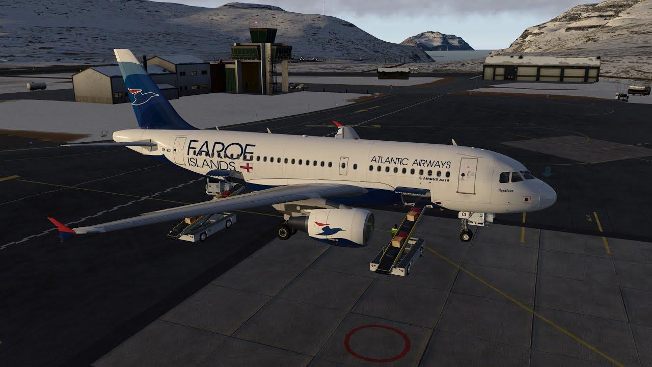 XP11 | EKCH (Copenhagen) - EKVG (Vargar, Faroe Is ) | ToLiSS