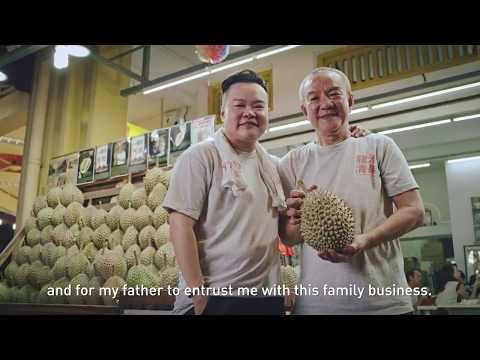 Old meets new — Leong Tee Durian