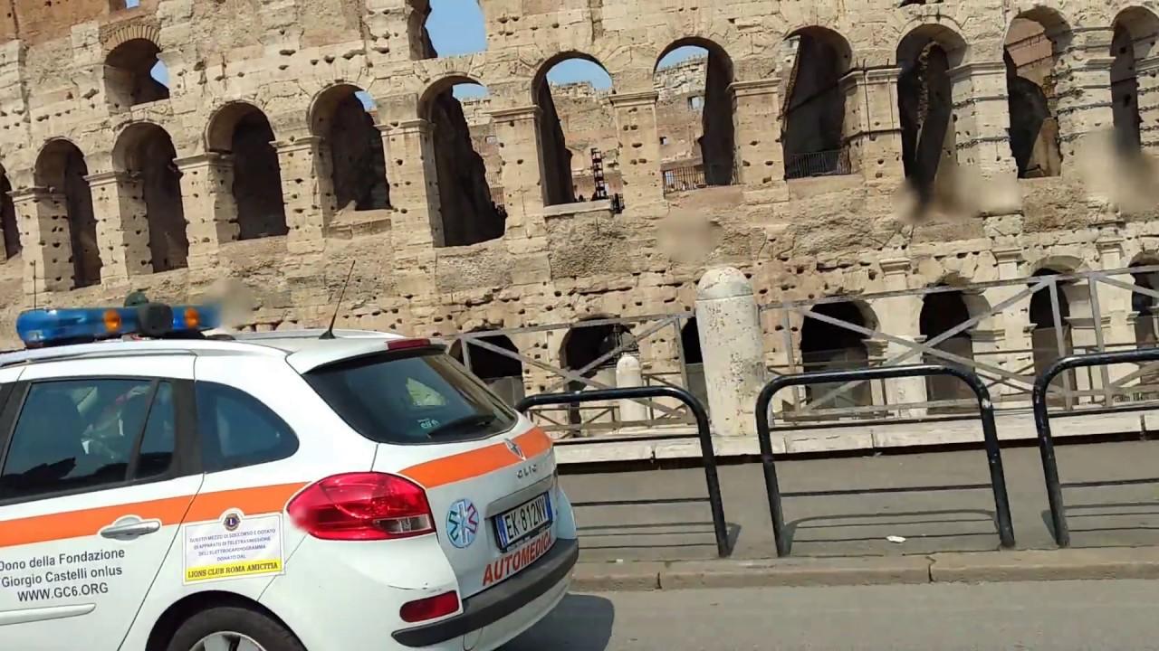 Jazda po Rzymie 2017 / Driving through Rome 2017 / Conducir a través de Roma 2017