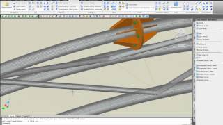Advance Steel - 3d Curved Tubular Truss Modeling And Unwrap Drawing Presentation