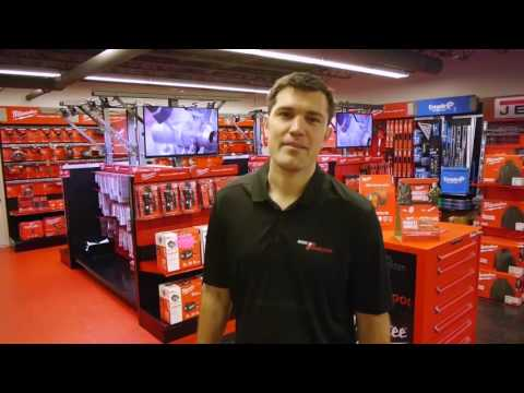 Milwaukee Tool Red Zone Showroom At Ohio Power Tool