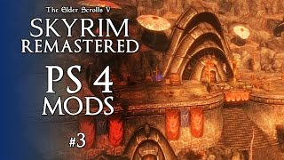 Skyrim Remastered PS4 Mods #3 - MORROWIND CASTLE - Homes & Buildings Skyrim Special Edition PS4 Mods