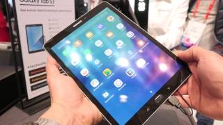 Samsung Galaxy Tab S3 hands-on MWC 2017