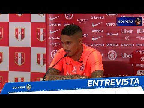 """Paolo Guerrero: """"Me gustaría jugar la Copa Libertadores con Alianza Lima"""""""