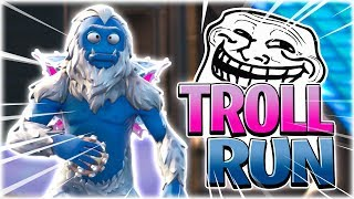 PLAY TROLL RUN! (BRILLIANT MAP!) -Dansk Fortnite