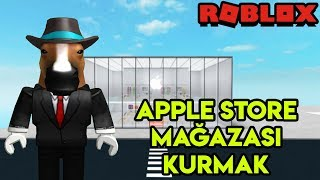📱 We're Setting Up Our Own Apple Store 📱 | Apple Store Tycoon | Roblox English