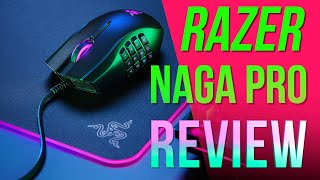 The Swiss Army Knife of Gaming Mice! - Adapt & Unleash - Razer Naga Pro 3-in-1 Gaming Mouse!