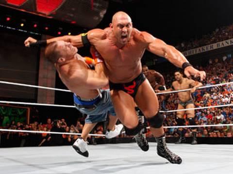 Raw: John Cena vs. The Nexus - 6-on-1 Handicap Match