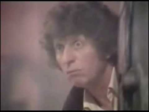 The 4th Doctor tells the Daleks to 'Spack Off!'