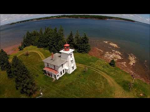 Prince Edward Island Drone 2017