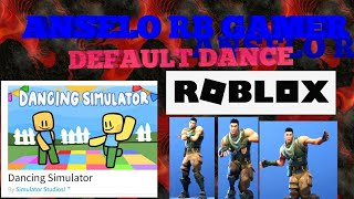 NEW GLITCH IN DANCING SIMULATOR ROBLOX!!