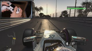 F1 2016 [PS4] - Controller Gameplay [PadCam]