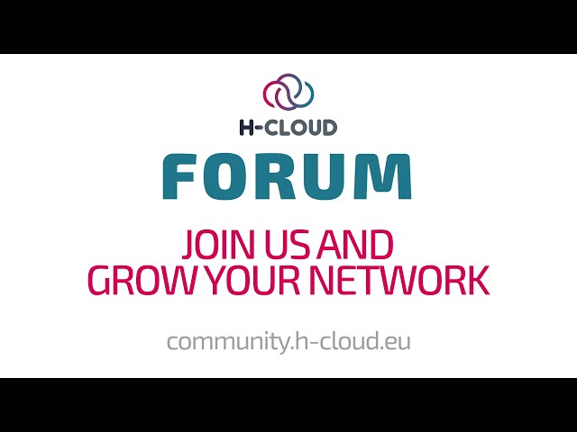 Join the H-CLOUD Forum!