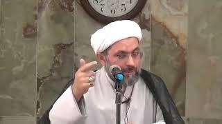 الشيخ عبدالله دشتي - الإمام موسى الكاظم عليه السلام ينهى أصحابه عن ان يكونوا عضداً للظالم