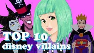 TOP 10 SCARIEST DISNEY VILLAINS Thumbnail