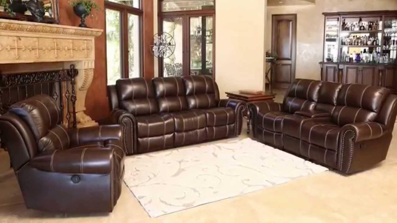 Abbyson Leather Sofa