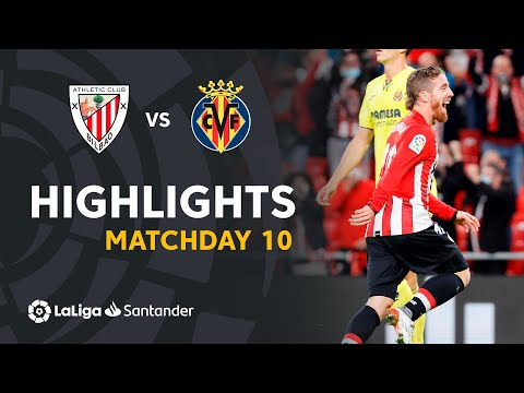Ath. Bilbao Villarreal Goals And Highlights