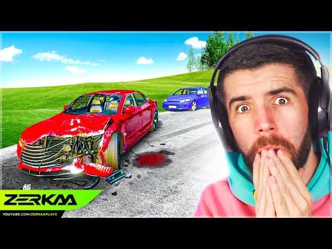 CAR CRASH INVESTIGATION SIMULATOR! (Accident)