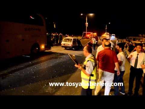 Tosya D 100 Trafik Kaza