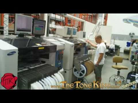 Carvin Factory Tour (3) Electronic Manufacturing
