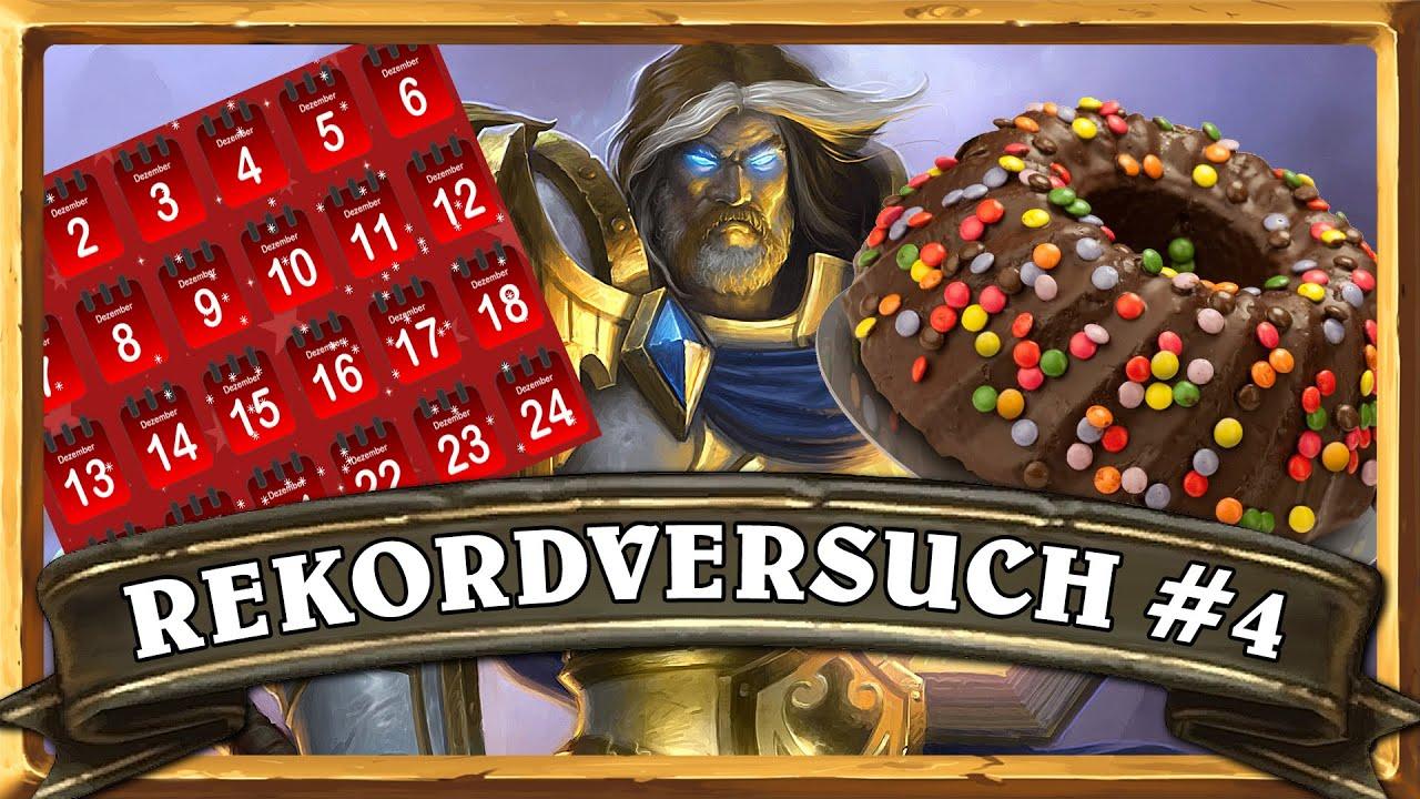 Hearthstone Arena 70 Episode 4 Rekordversuch Mit Kuchen Und