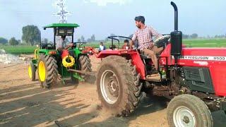 John deere 5310 vs Massey Ferguson 9500(2018) new tochan in haryana
