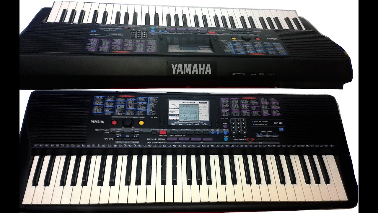 Yamaha Psr 220 Youtube