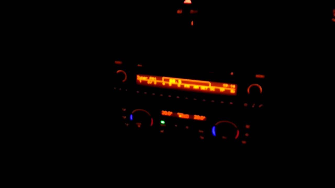 BMW radio static