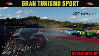 GT Sport - Never Give Up (Daily Race Crash)