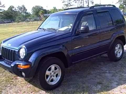 Used car dealer Gainesville, Ocala Fl.02 JEEP LIBERTY LIMITED CALL FRANCIS(352)-745-2019