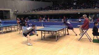 【日本最高峰のペンドラ】松下大星のダイナミックなプレーを見る | 第70回 東京卓球選手権大会 男子シングルス 5回戦