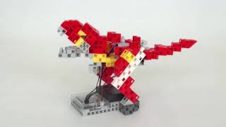 Programmer votre robot avancé - Le T-Rex en action