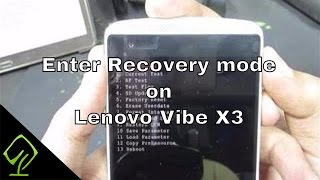 How to Enter Recovery mode on Lenovo Vibe X3