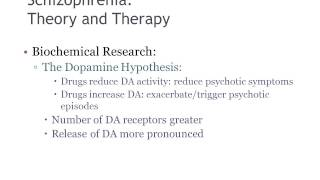 treatment of schizophrenia