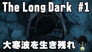 【The Long Dark 実況】 #1 世界的大寒波で生き残る方法 「マッチの明かりを頼りに炭鉱探索」 thumbnail
