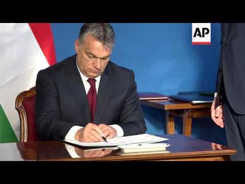 Orban: Hungary to scrap visa fees for Ukrainians