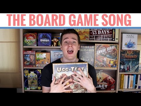 The Board Game Song