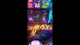 愛媛県松山市ビックロッキー堀江店でCR押忍!ど根性ガエルを打ってみた動画です。