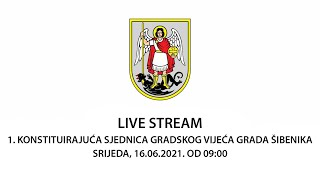 1. konstituirajuća sjednica Gradskog vijeća Grada Šibenika
