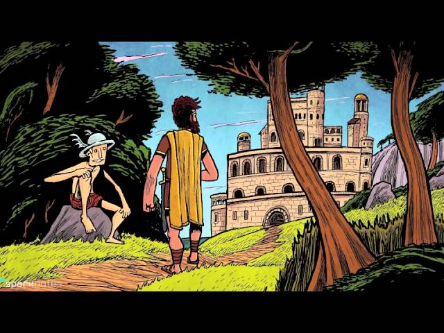 from the odyssey part 1 by homer open book test
