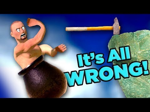 Getting Over It's IMPOSSIBLE PHYSICS! | The SCIENCE!...of Getting Over It with Bennett Foddy