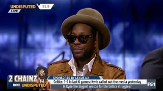 Skip & 2 Chainz QUESTIONABLE: Does anyone have a chance of beating GS in the playoffs? | Undisputed