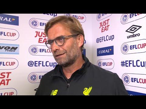 Derby County 0-3 Liverpool - Jurgen Klopp post-match reaction