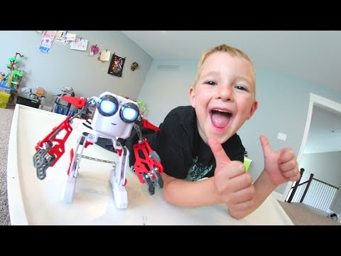 Thumbnail: FATHER SON WACKY ROBOT! / We Built It!