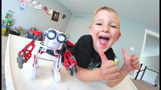 FATHER SON WACKY ROBOT! / We Built It!